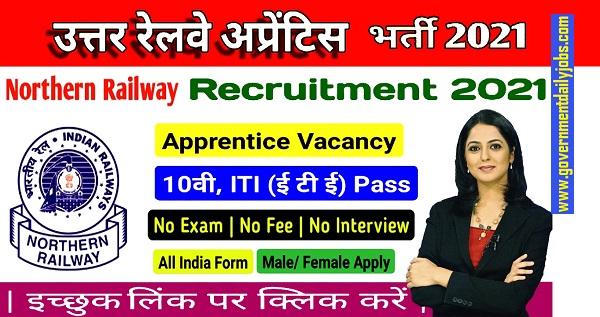 RRC NR Apprentice Recruitment 2021