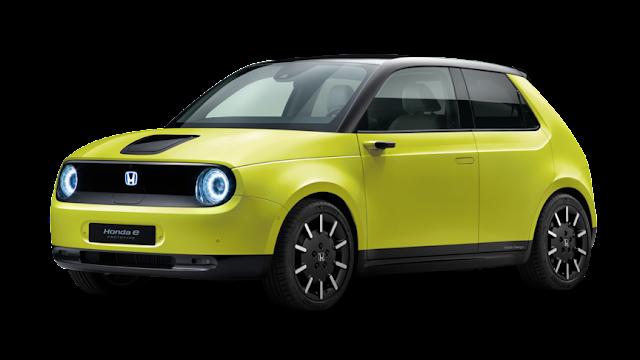 Honda e - kereta elektrik comel daripada Honda