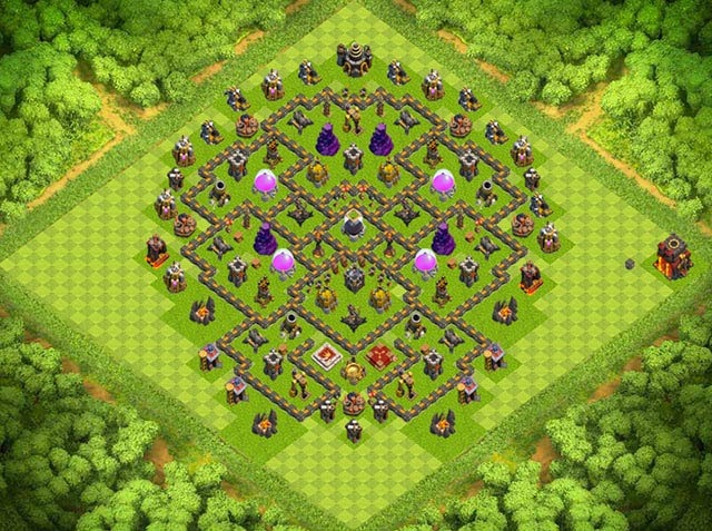Base Town Hall 10 Clash of Clans Farming