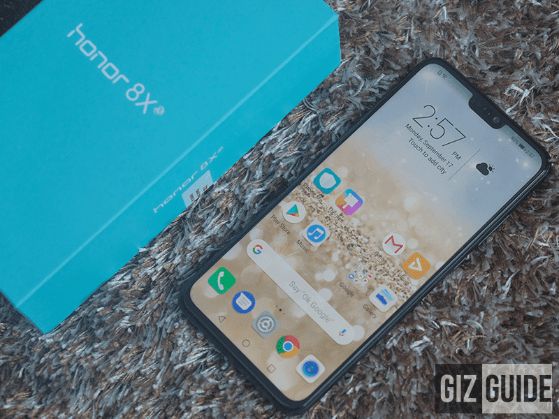Honor 8X Unboxing and First Impressions - 43,321 hits as of writing