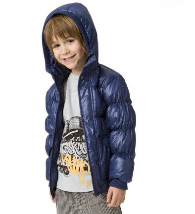 Kids Wearing Winter Coats