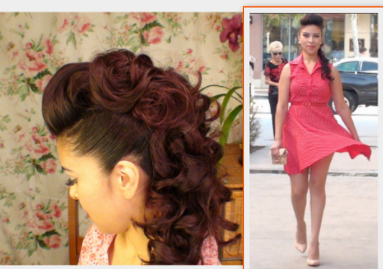 Marvelous All The Girly Things Fauxhawk Ponytail Hairstyle Inspiration Daily Dogsangcom