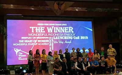 pemenang penghargaan anugerah mitra terbaik kementerian pariwisata