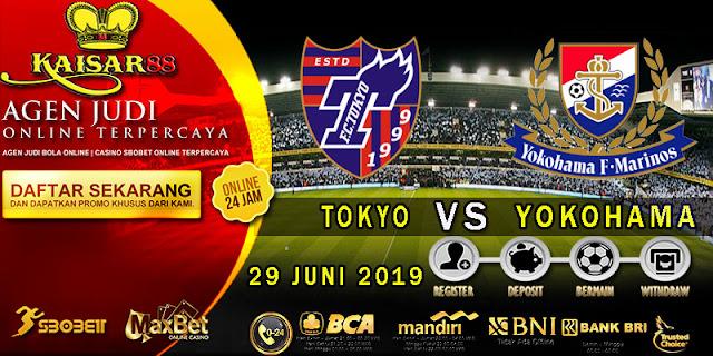 PREDIKSI BOLA TERPERCAYA TOKYO VS YOKOHAMA MARINOS 29 JUNI 2019