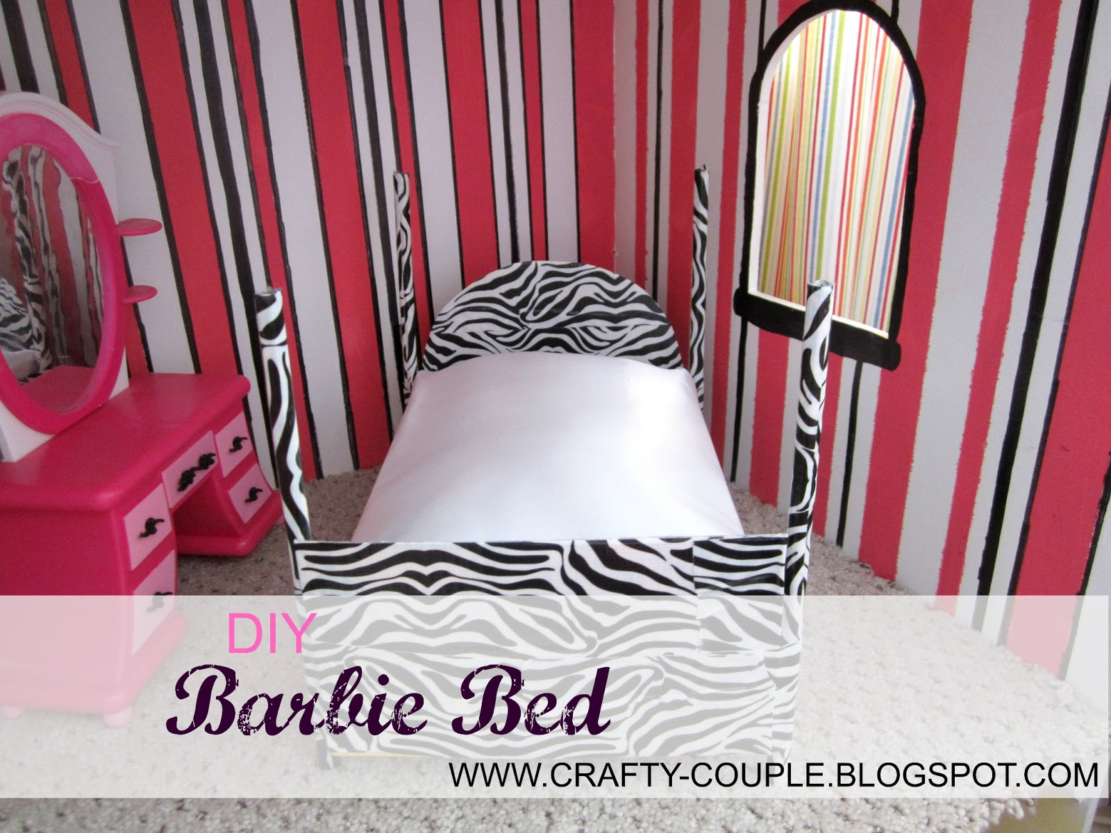 My First Room Toddler 3 Piece Room In A Box: Crafty Couple: Diy Barbie Bed