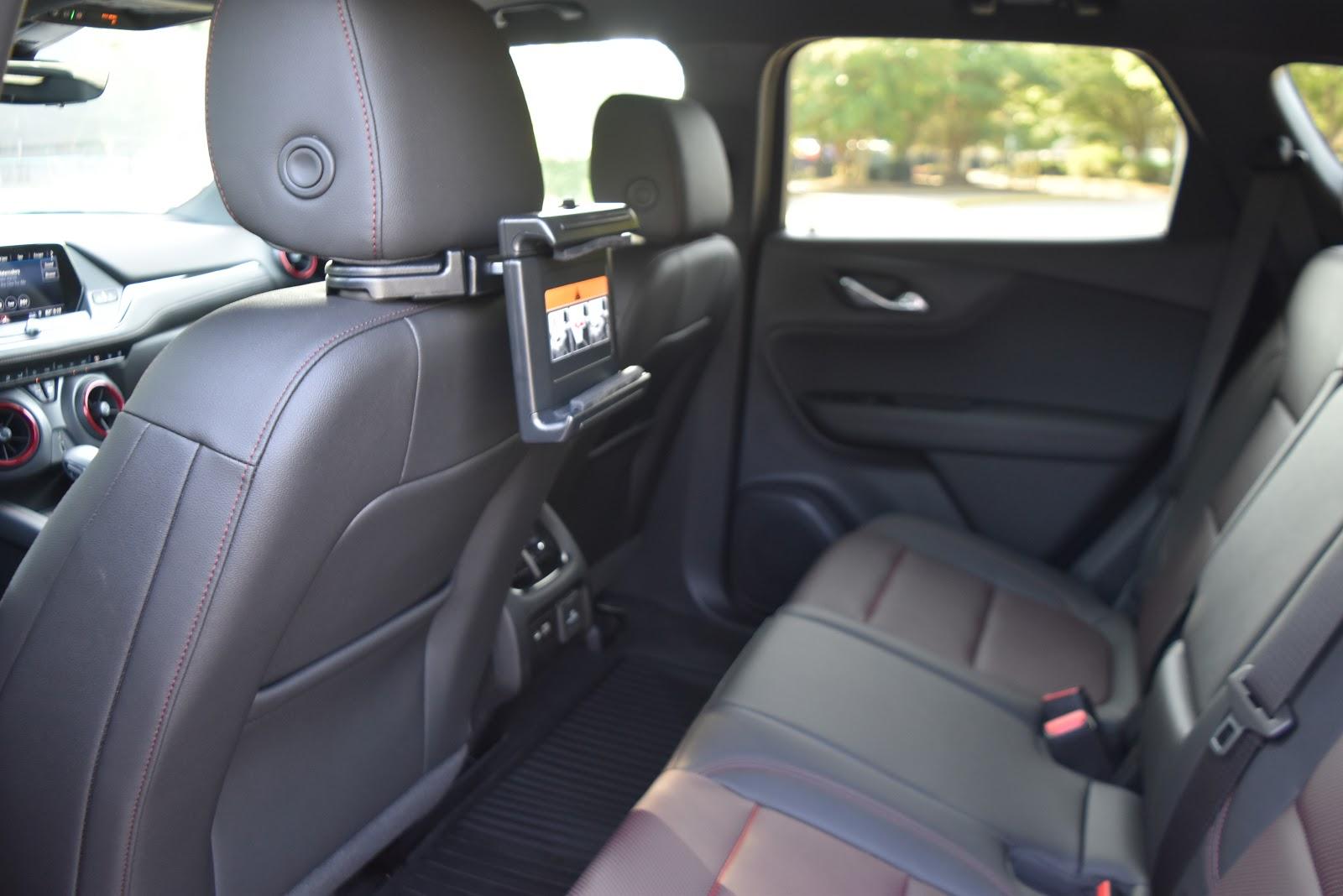2019 Chevy Blazer Back Seat