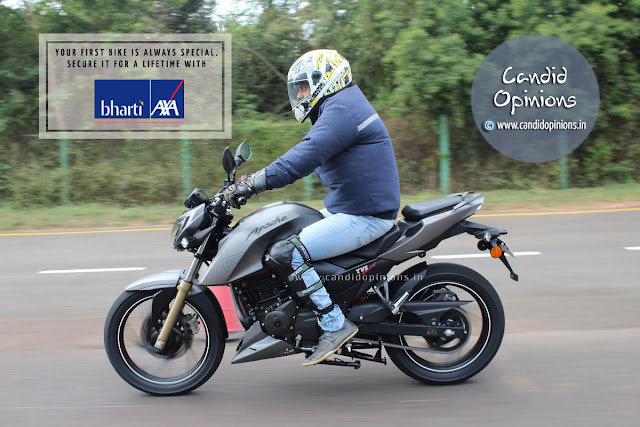 Two-wheeler Insurance Plan from Bharti AXA General Insurance