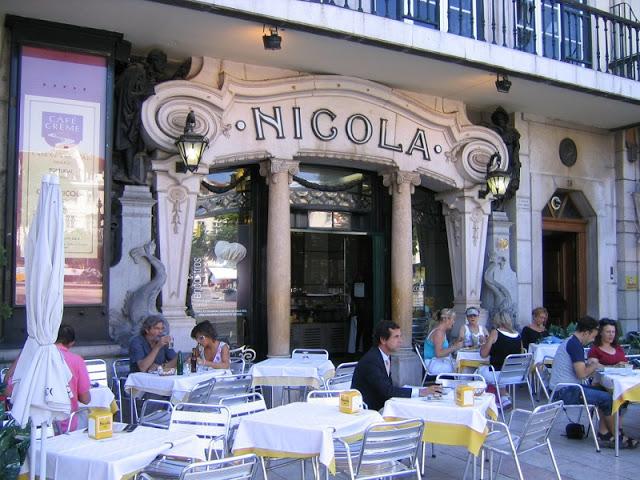 Café Nicola em Lisboa