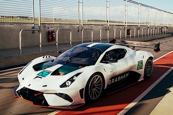Brabham BT62 video circuito de Adelaida