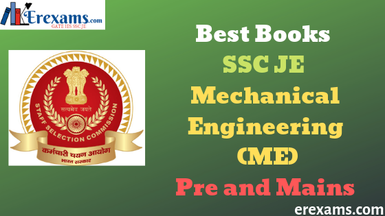 Best Books SSC JE Mechanical Engineering (ME) for Pre and Mains