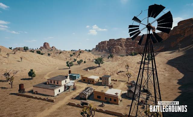 رسميا خريطة الصحراء قادمة للعبة PUBG على جهاز Xbox One في هذا الموعد ...