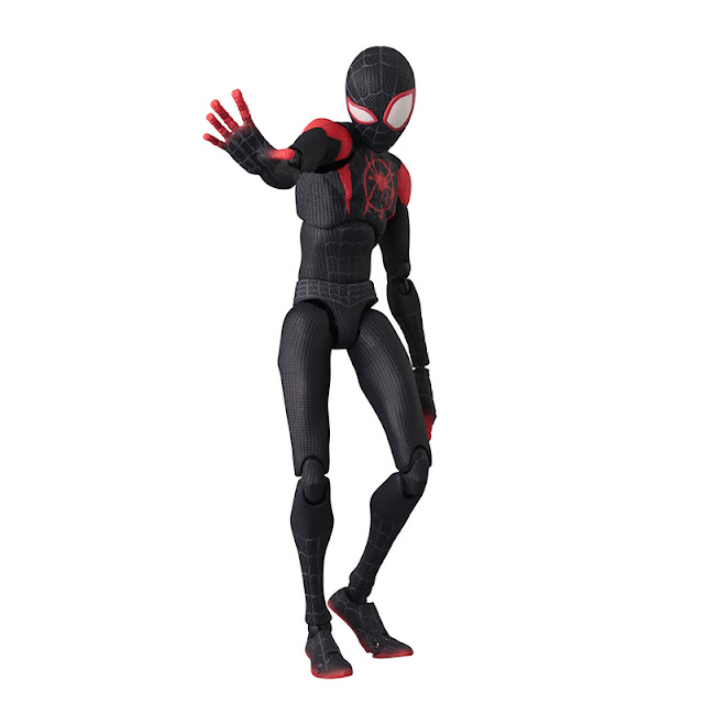 Figura de Spider-Man: Into the Spider-Verse SV-ACTION Miles Morales - Sentinel