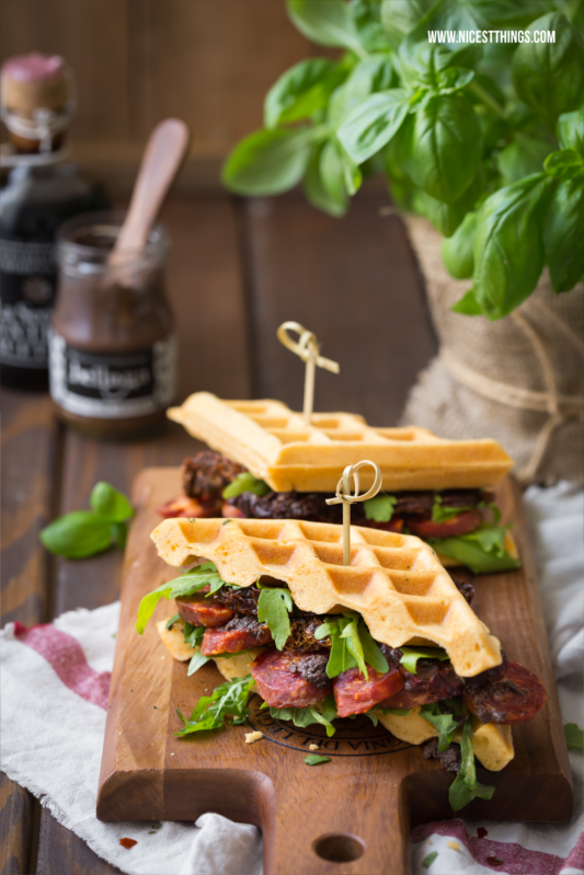 Waffle Sandwiches by Nicest Things