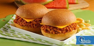 Honey Barbeque Tuna Sliders