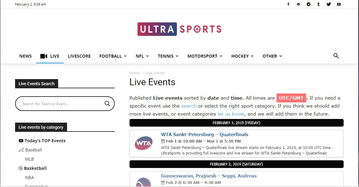 ultrasports-streaming-sites-2019
