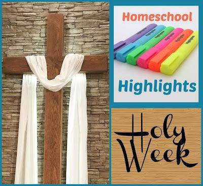 Homeschool Highlights - Holy Week on Homeschool Coffee Break @ kympossibleblog.blogspot.com