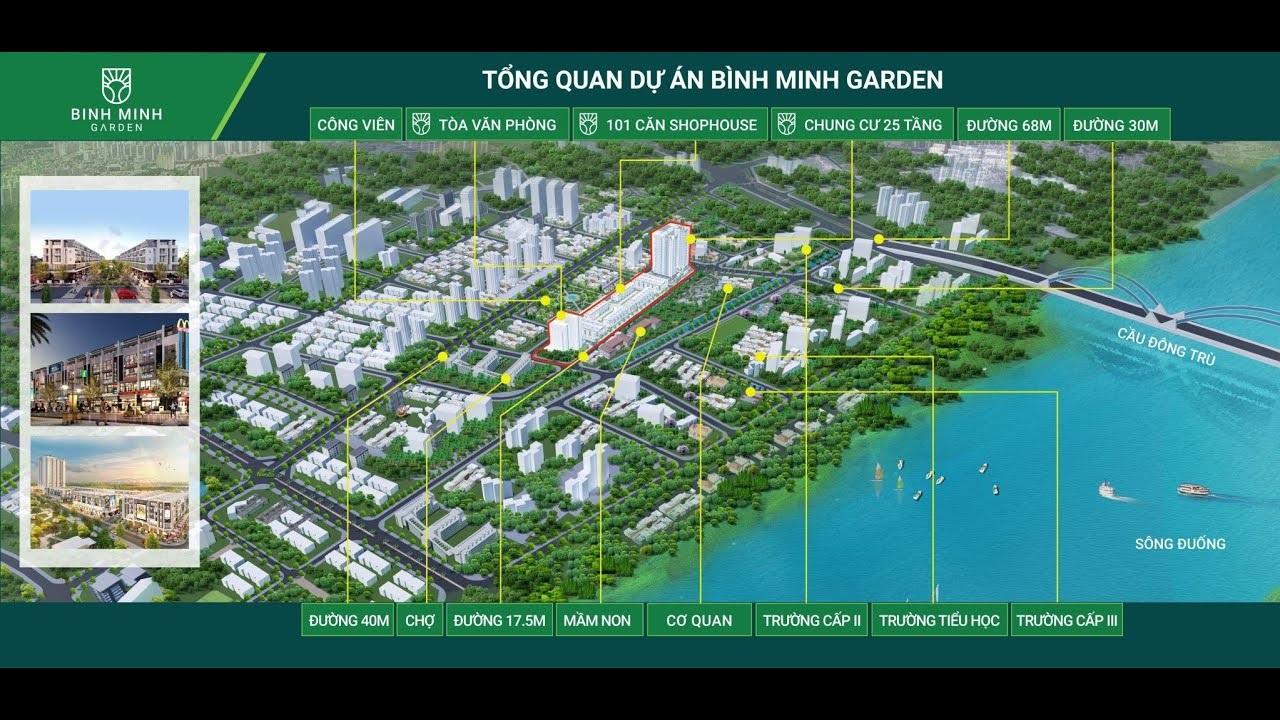 Phối cảnh Bình Minh Garden trên bản đồ quy hoạch!