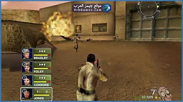 تحميل لعبة عاصفة الصحراء 1 Desert Storm للكمبيوتر من ميديا فاير