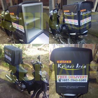 Tas delivery box makanan Surabaya kuliner area