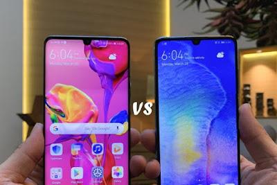 Perbandingan Ponsel Huawei P30 VS P30 Pro Lebih Baik Mana