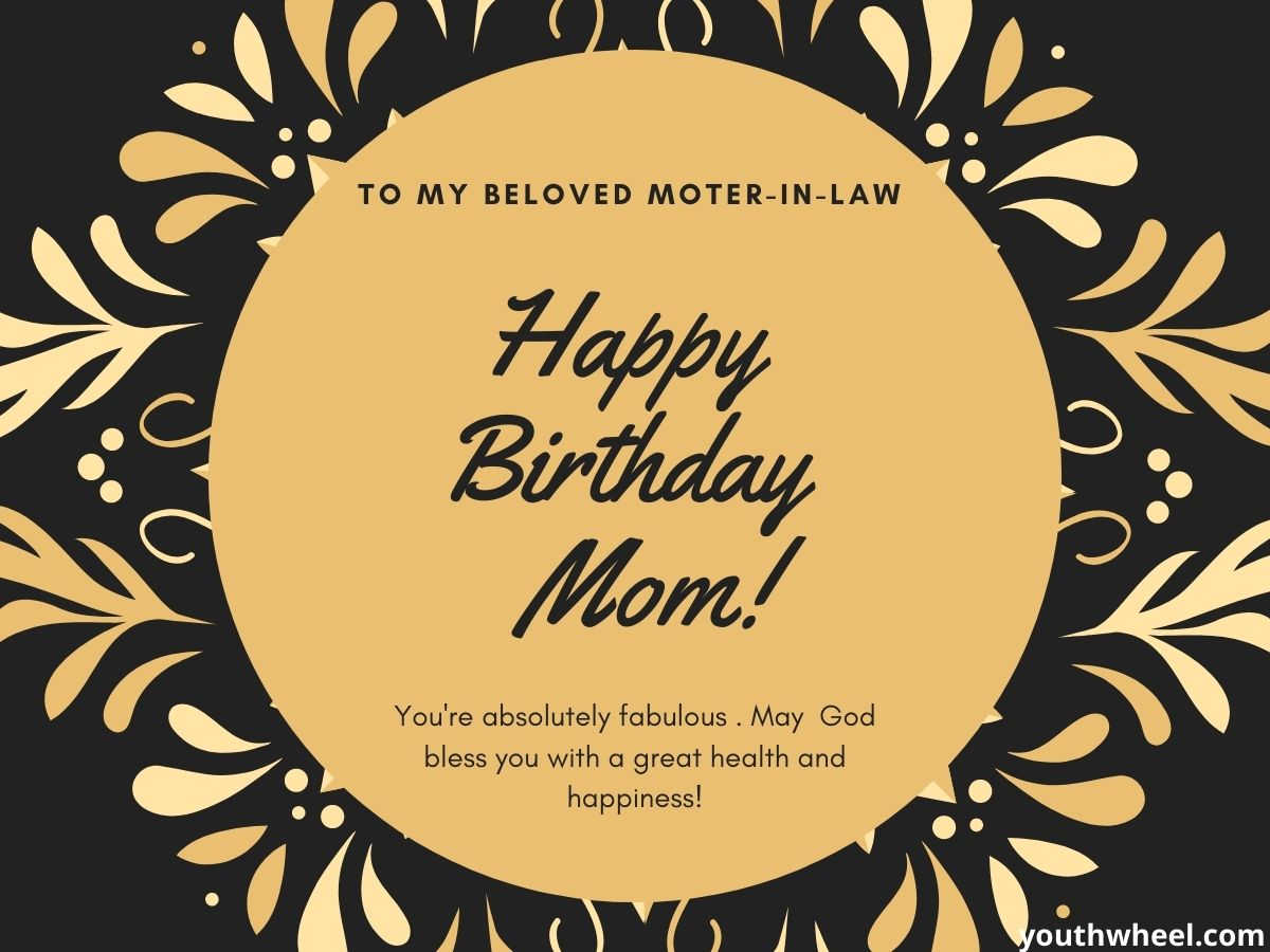 New Mother-in-law birthday wishes, quotes, greetings
