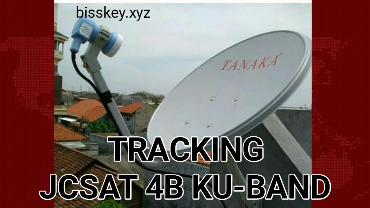 Cara Tracking Satelit JCSAT 4B Ku-Band