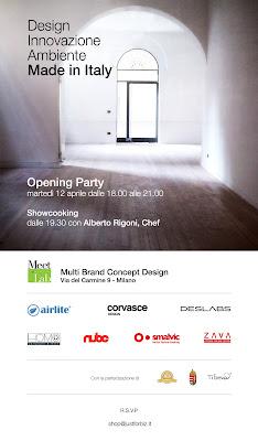 Design. Innovazione. Ambiente. Made in Italy