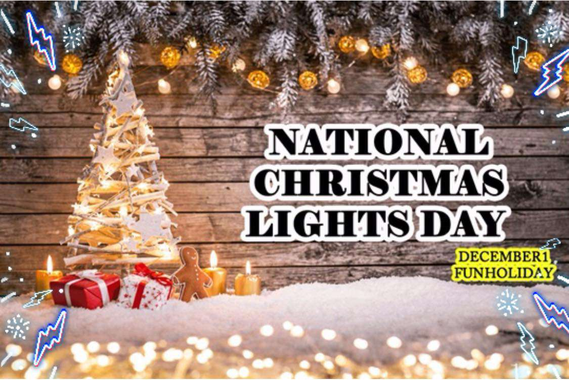 National Christmas Lights Day Wishes Photos