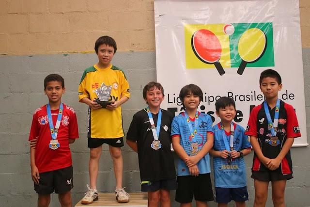 Mesatenistas são destaques na Liga Nipo-Brasileira