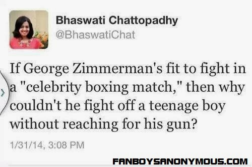 George Zimmerman and DMX celebrity boxing match causes Twitter outrage