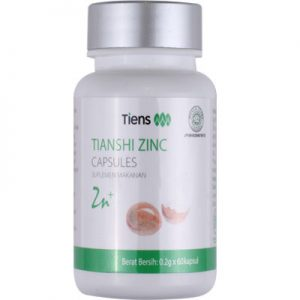 zinc capsules, zinck tiens, obat herbal zinc