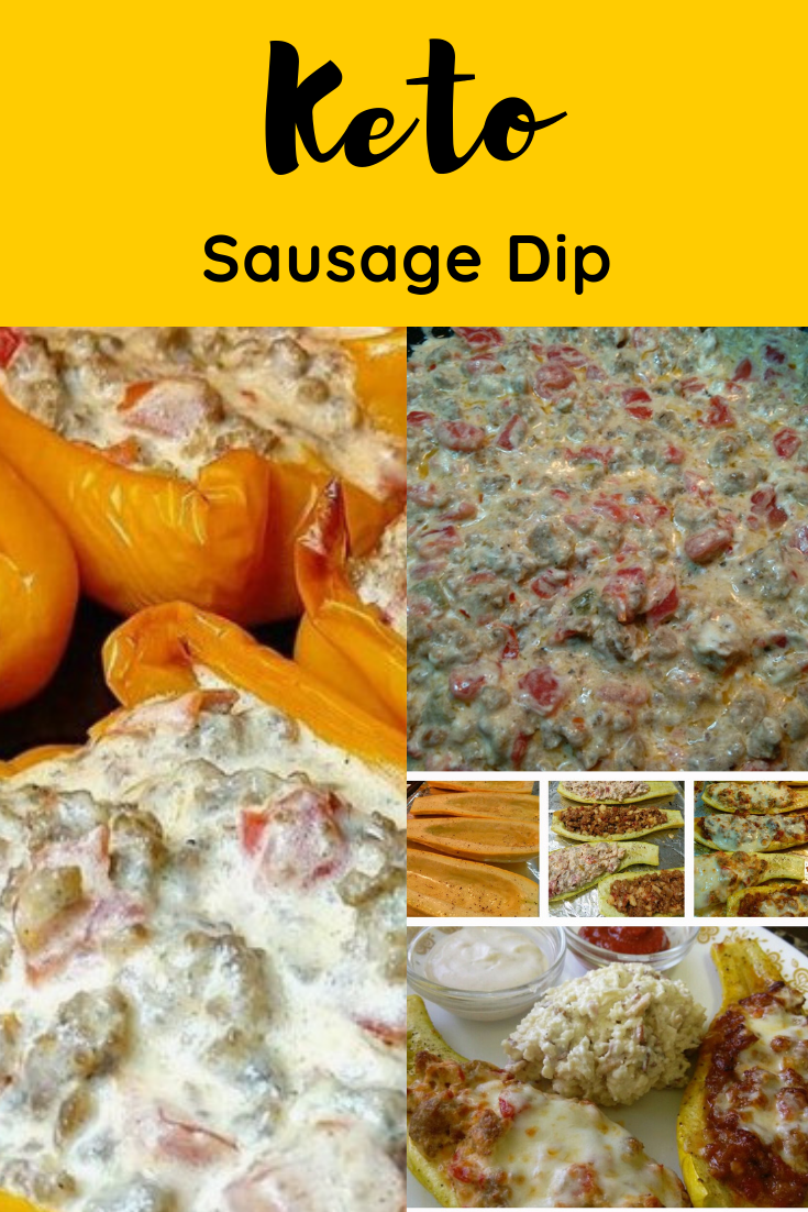 #Easy #Keto #Sausage #Dip #Lowcarb