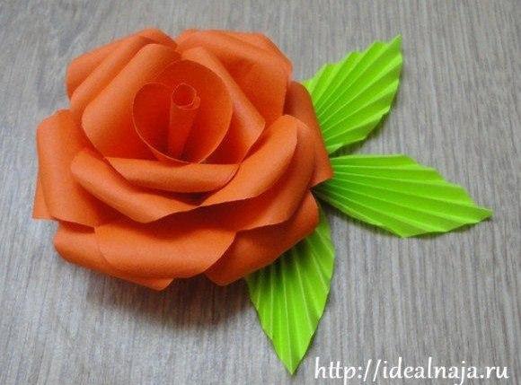Como Hacer Una Sencilla Flor De Papel Mimundomanual