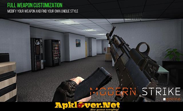 Modern Strike Online MOD APK unlimited ammo & premium
