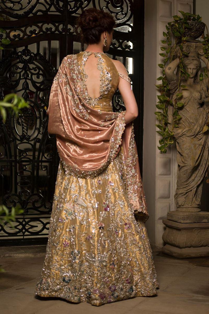 Buy this beautiful inspired Pakistani designer wear bridal dress by Nida Azwer Barat dresses