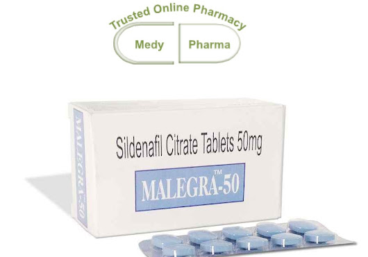 Buy Malegra 50mg | Sildenafil Citrate 50mg | Blue Magic Pills