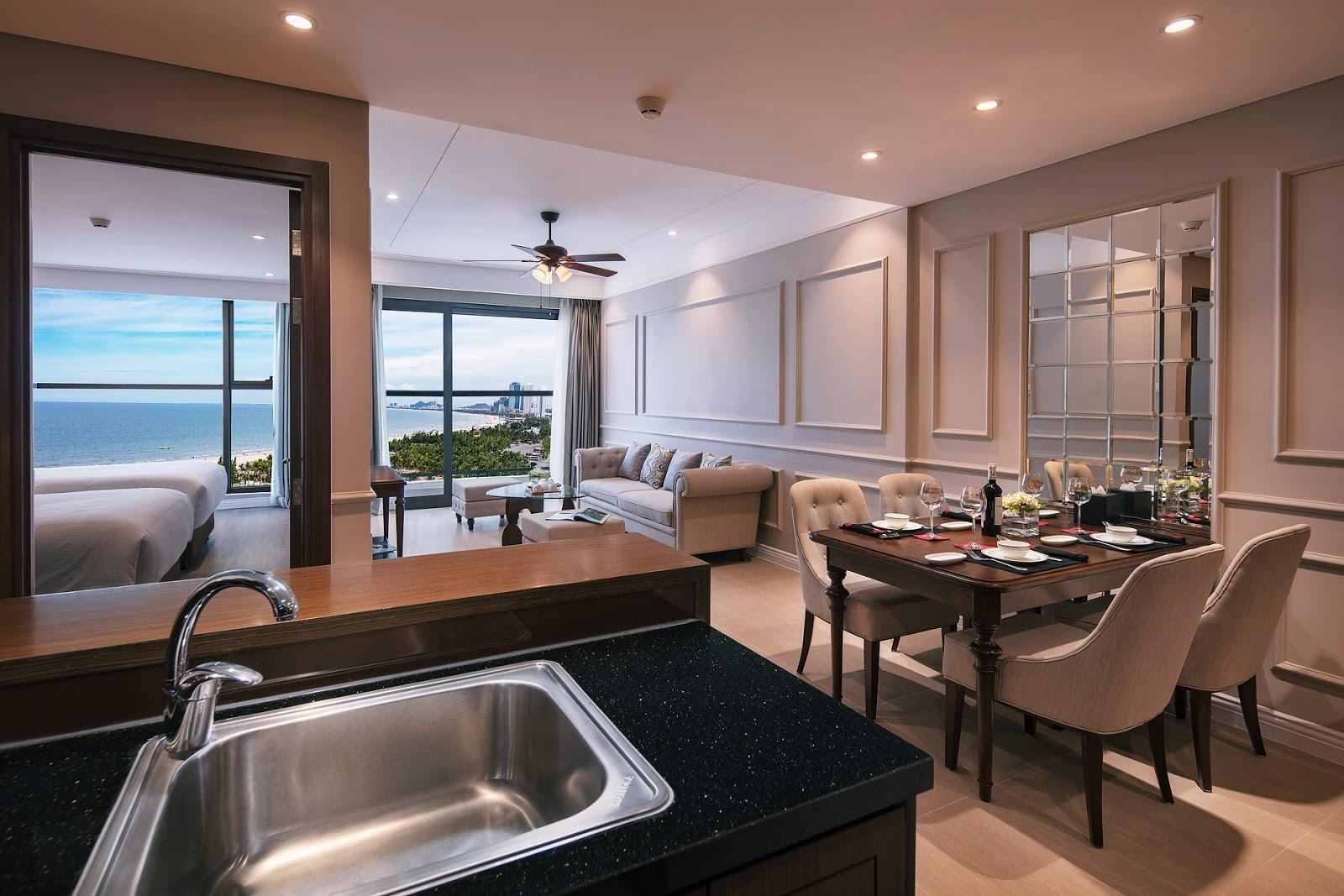 Hình ảnh căn hộ đẳng cấp của Luxury Apartment