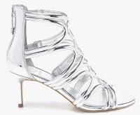 Sandale argintii Guess Jeans