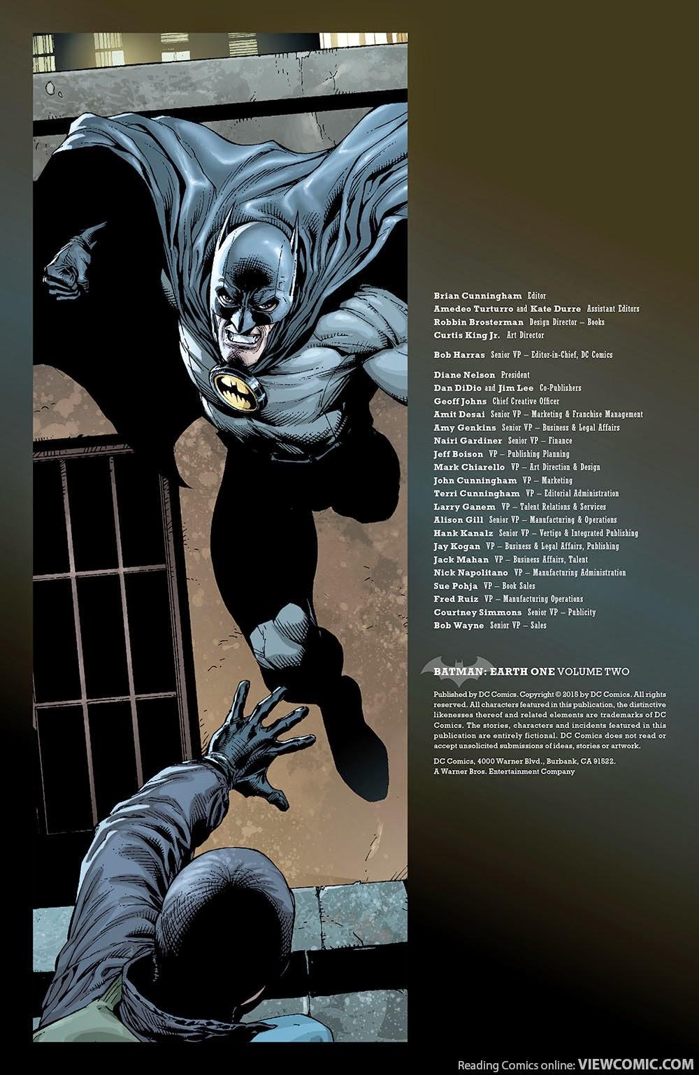 Pdf 2 volume earth batman one