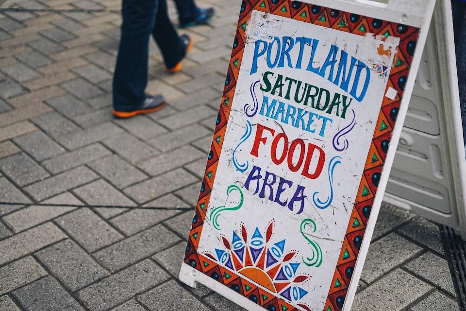ポートランド・サタデー・マーケット(Portland Saturday Market)