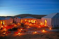 <b>ERG CHEBBI ~ Luxury desert camp </b>