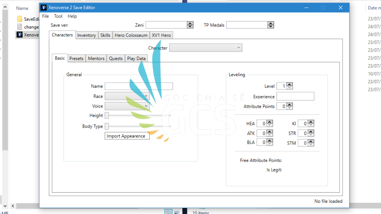 DBX2 save editor v1.72 - www.infogatevn.com