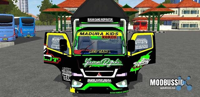 MOD Truck Canter AJS TAMA Full Anim Terbaru