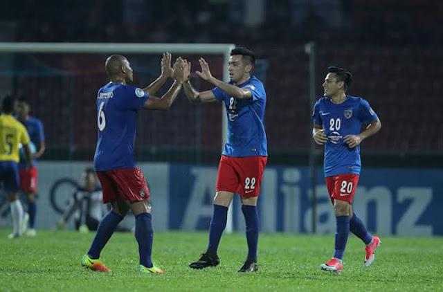 Highlight JDT vs Magwe FC 3-1 AFC Cup - Hatrik Guerra Bantu JDT Layak Separuh Akhir Zon Asean!