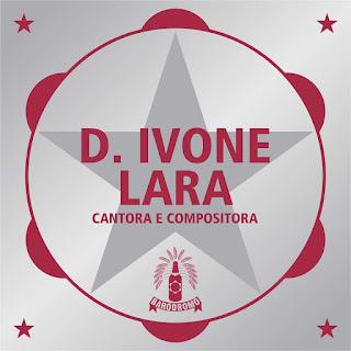 Layout de placa em homenagem a D.Ivone Lara oferecida pelo Baródromo