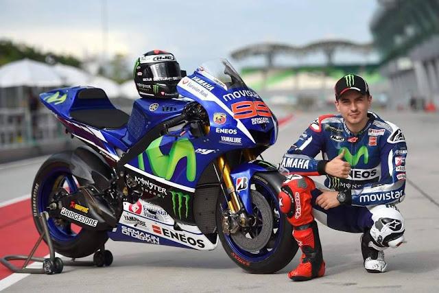 Yamaha Tandai Lorenzo Dalam MotoGP sebagai Test-Rider