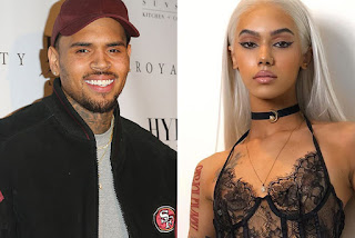 Chris Brown Assembles With Model Indyamarie After Pregnant Rumour