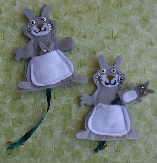 kangaroo puppet template - crack of dawn crafts february 2010