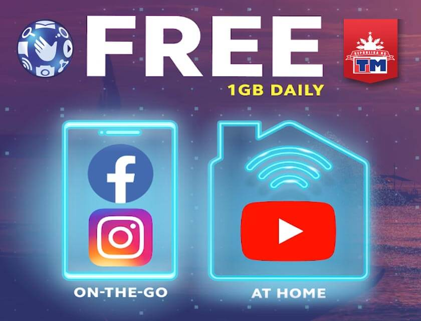 Globe Free Facebook and Instagram