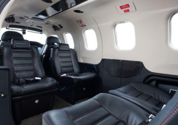 Daher TBM 930 interior
